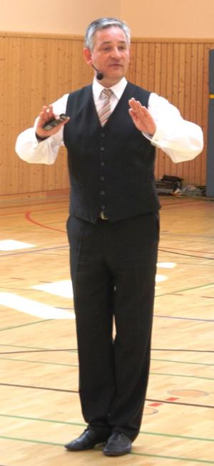 Trainer Peter Esmann
